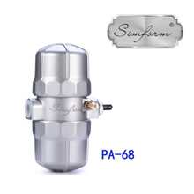 Metal body regulating PA-68 pneumatic auto condensate drain valve for air tank dryer filter