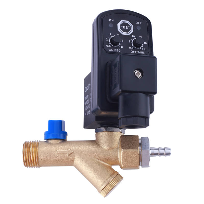 valve electric drain valve electronic air compressor tank drain electric auto drain