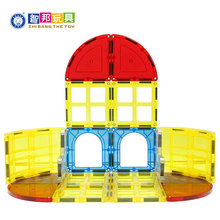 Learning & educational toy 3D magnetic building tiles for children