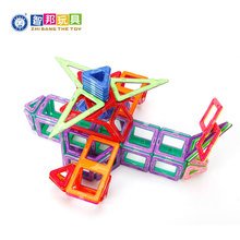 STEM educational toy magnetic construction set building blocks tiles