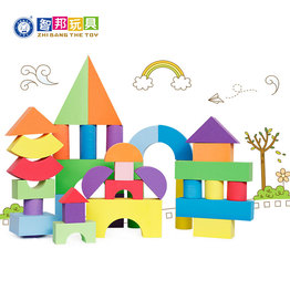 Custom Safe Eco-friendly Preschool Educational Toy EVA Foam Block