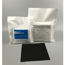 Black Cleanroom Wiper