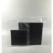 6''X6'' Black Polyester Wiper
