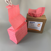110gsm X80 Red Heavy Duty Industrial Wipes