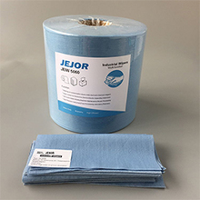 Blue Industrial Wiper Roll