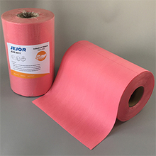 X80 Heavy Duty Red Cleaning Cleanroom Wipe Jumbo Roll