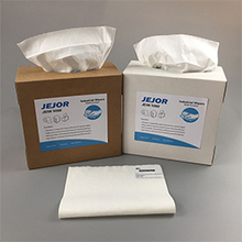 White X60 Nonwoven Industrial Cleaning Wipe