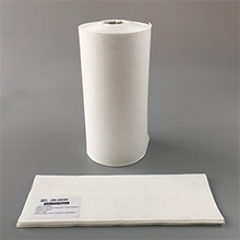 X80 White Woodpulp PP Wipes Paper Roll