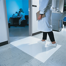 26''x45'' Antibacterial White Sticky Mats