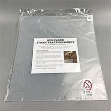 24''X36'' Clear Peelable Hospital Antibacterial Sticky Mat