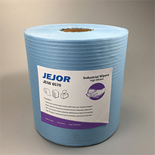 25 x 30 cm Blue Industrial Cleaning Paper Roll