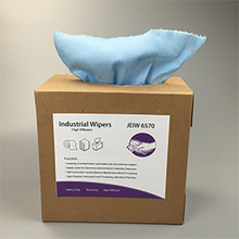 Disposable Blue Nonwoven Cleaning Wipes