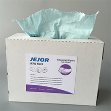 Sky Blue Nonwoven Industrial Wipes