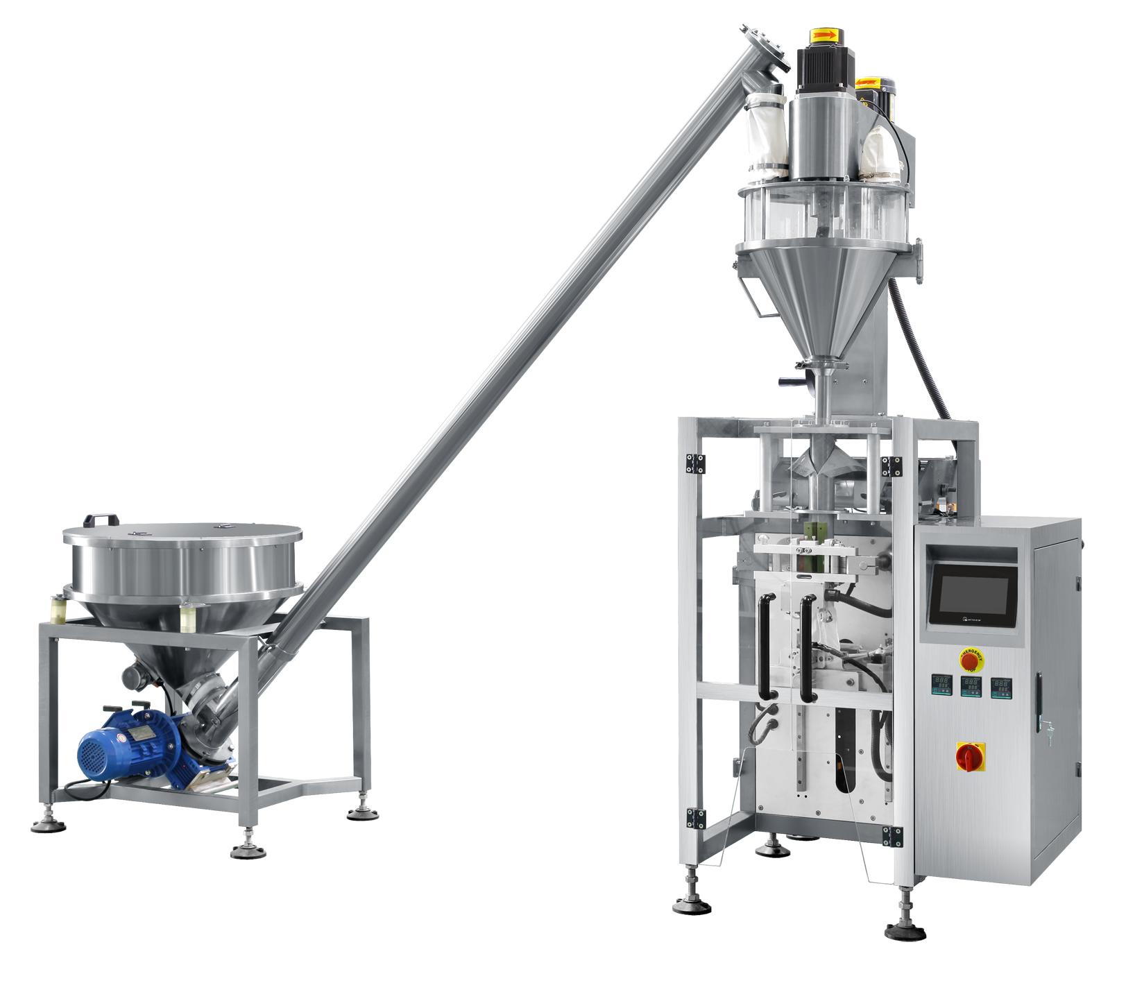 Auger Type Powder Filling Machine Automatic Powder Filling