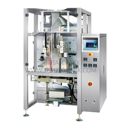 4 edge seal gusset bag vertical packing machine