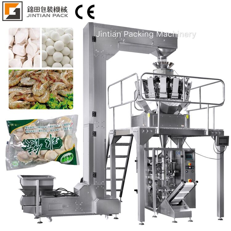 JT-420W, multihead weigher packing machine