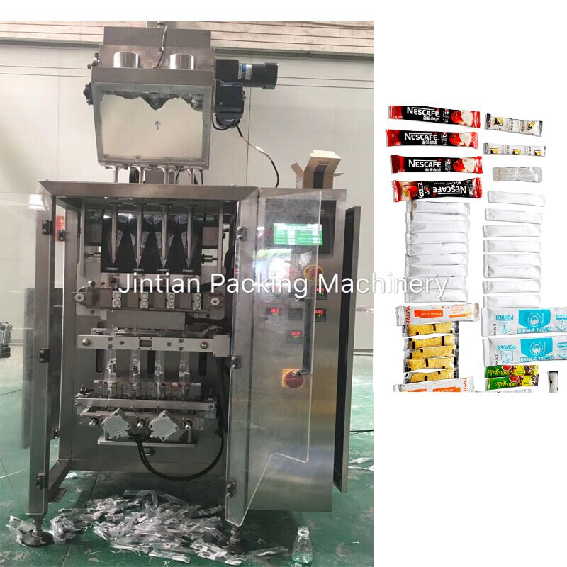 JT-420-4K, multilane powder packing machine