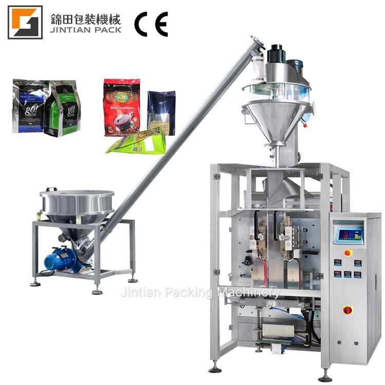 JT-460VF,stand up bag powder packing machine