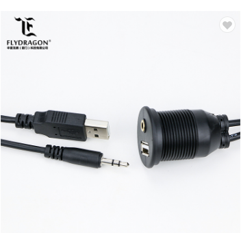 weatherproof threaded type A usb3.0 connector