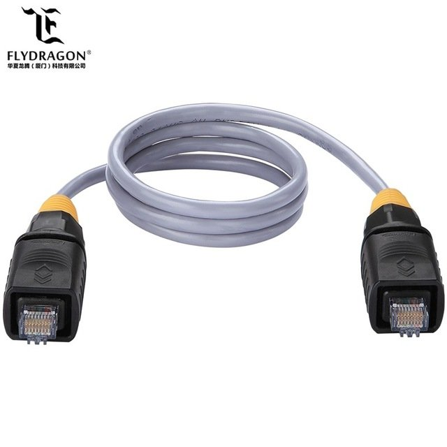 cat6 terminal 8p8c rj45 connector dual port rj45 connector