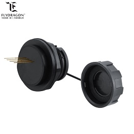 high quality industrial waterproof usb2.0 female socket connector with 4pin