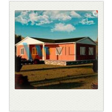 2 bed rooms prefab houses low cost