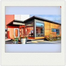 shipping 40ft container modular house