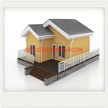 57 sqm  light steel structure house with 2 bedrooms