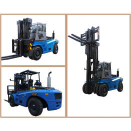 Chinese Forklift  12T Heavy Duty Diesel Forklift factory