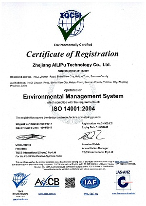 Environmrntal Management System ISO14001:2004