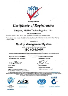 Quality Management System ISO9001:2015