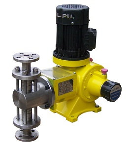 J1.6 Series Plunger Chemical Injection Pump Liquid Dosing Pump