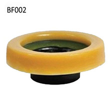 BF002 cheap factory price rubber toilet bowl wax rings gasket with flange