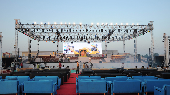 P10MM OUTDOOR LED RENTAL DISPLAY