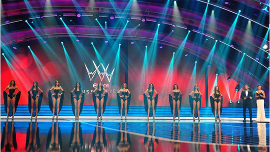 P3.91MM MISS Turkey INDOOR RENTAL LED DISPLAY
