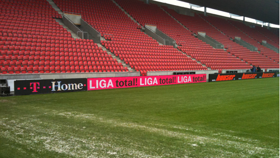 P10MM OUTDOOR PERIMETER LED DISPLAY INSTALLED IN GERMNAY 236㎡
