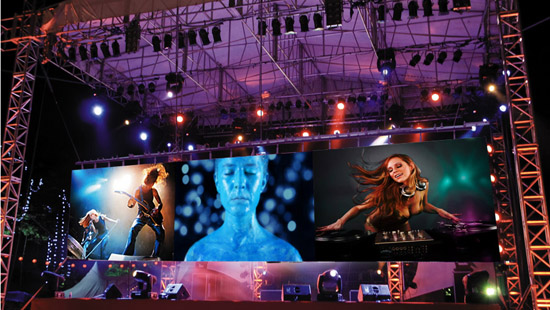 P2.5MM  INDOOR RENTAL LED DISPLAY IN ALBANIA