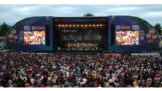 P4.81MM OUTDOOR LED RENTAL DISPLAY