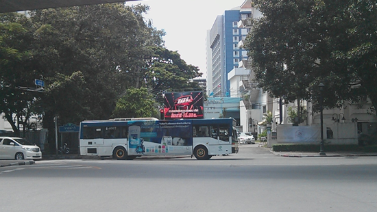 P10 OUTDOOR FIXED INSTALLATION LED DISPLAY IN THAILAND