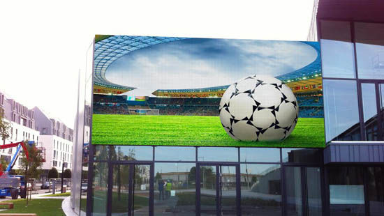 P10MM OUTDOOR WALL MOUNTED LED DISPLAY