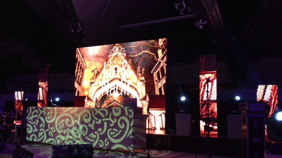 P3.84MM INDOOR LED RENTAL DISPLAY