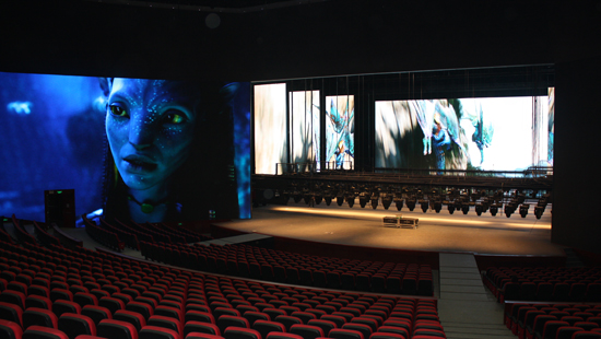 P4.81MM INDOOR LED DISPLAY IN THEATER ALGERIA