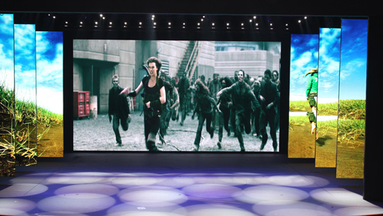 216㎡ P4.81MM INDOOR LED DISPLAY IN THEATRE