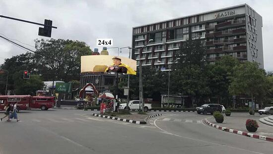 P10MM SMD OUTDOOR OUTER CURVED LED DISPLAY