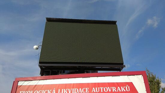 P8MM SMD OUTDOOR LED ADVERTISING BILLBOARD