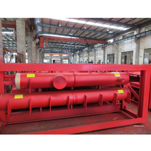 SA-335 SAW welding header ASME ISO9001 manufacturer for fossil fuel high pressure power plant boiler