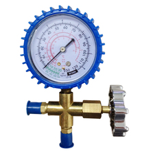 Factory Custom Refrigerant Single Pressure Gauge Valve