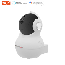 LS VISION Tuya Smart Home 1080P HD Auto Tracking Motion Detection Alarm Two-way Voice 360 Panoramic PTZ Security Camera