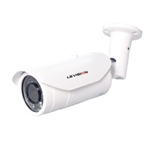LSVISION Humanoid Motion Detection Voice Alarm 1080P Varifocal Lens IR PoE Starlight Bullet Network IP Camera with Audio