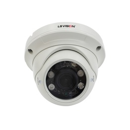 LS VISION PoE 1080P 2MP Varifocal Lens Starlight Dome Camera